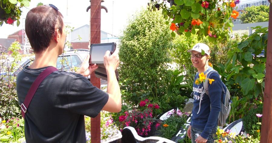 Wifi access in the Flying Angel Garden