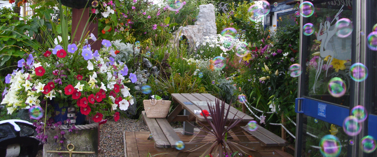 Falmouth Flying Angel Award Winning Garden